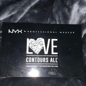 nyx love contours all palette! ❤️